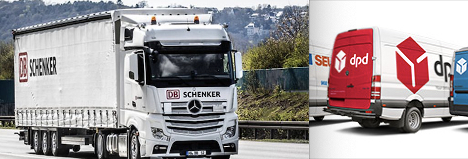 Foto: DB Schenker, DPD Group