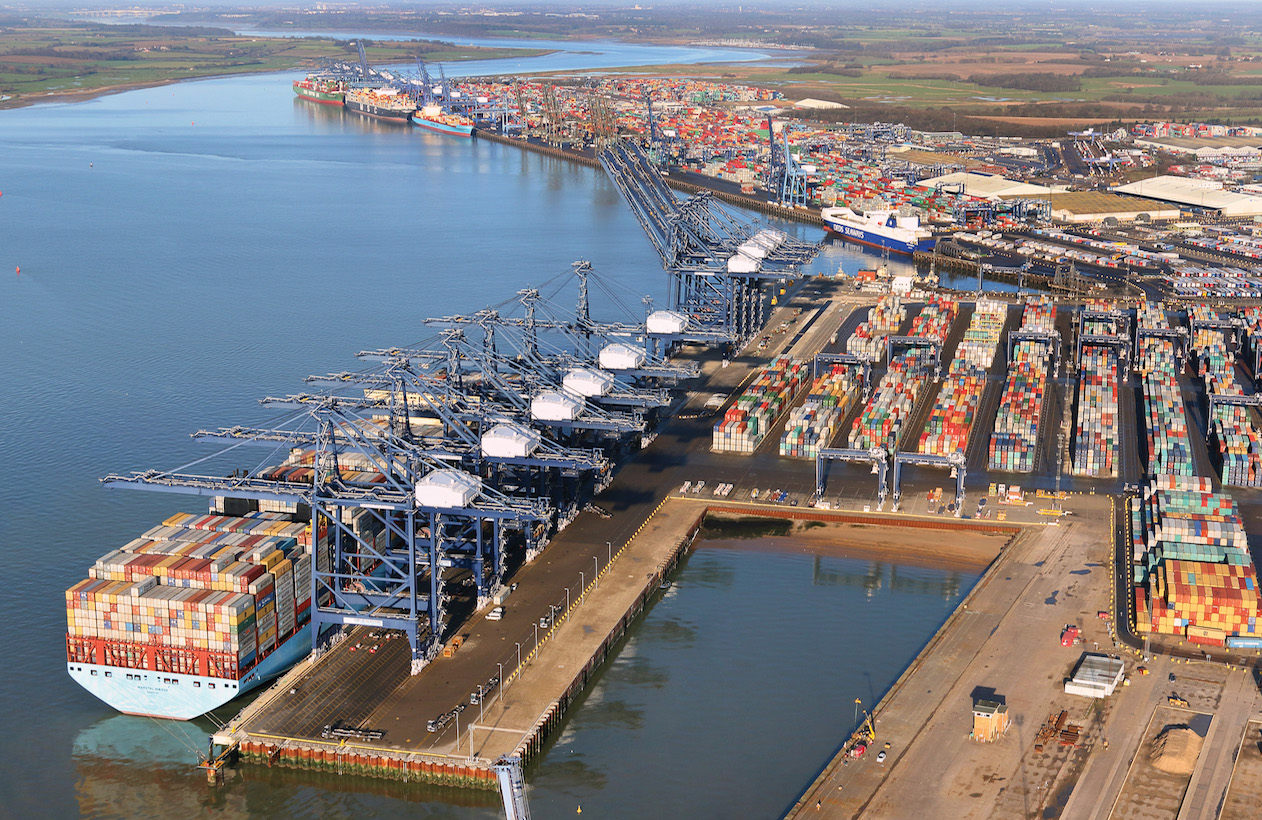 (Bild: Port of Felixstowe)